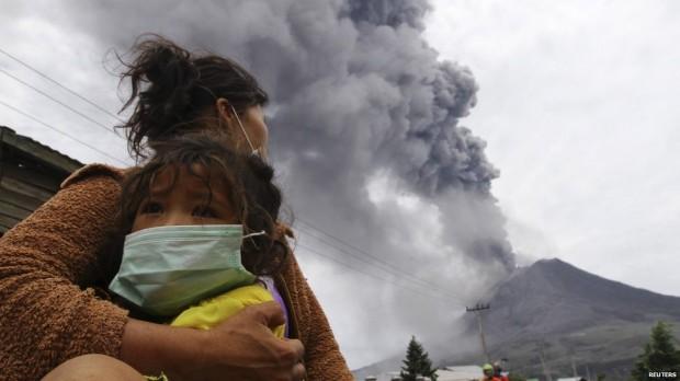 Mount Sinabung volcano alert at highest level