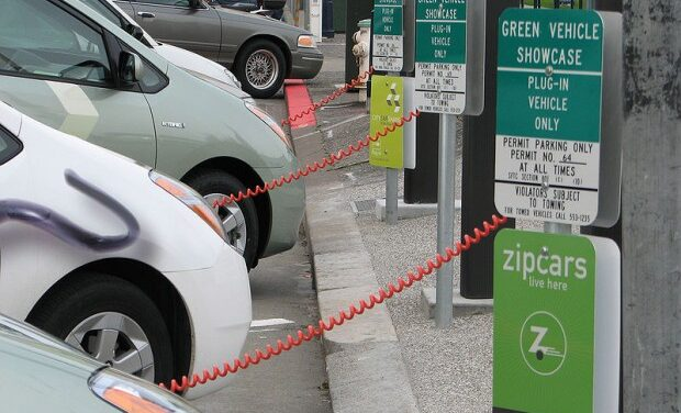 GO station unveils electric car chargers