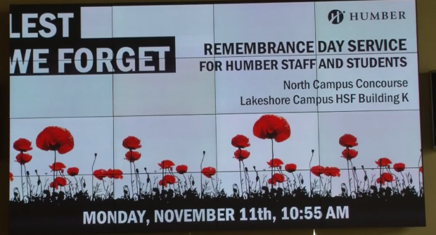Rememberance Day, a Canadian tradition
