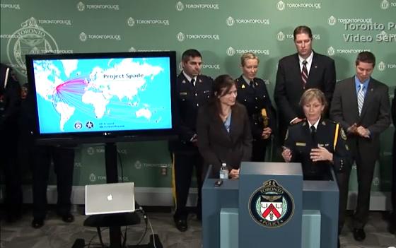 Torontonian arrested in international child porn bust