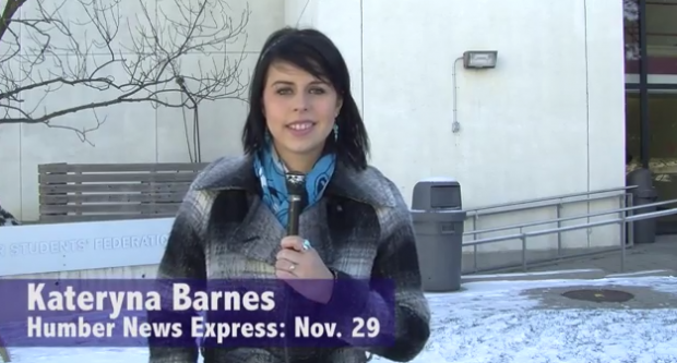 Humber News Express, Nov. 29