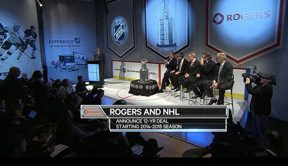 NHL and Rogers announce $5.2 billion deal