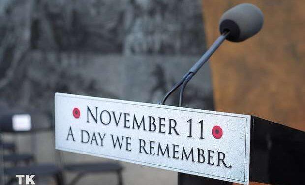 Remembrance Day Ceremonies across GTA