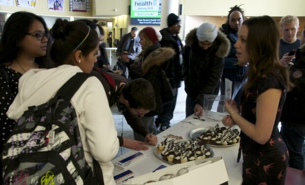 Free Cupcakes from student committee part of winter promotion