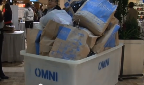 Underground clothing drive brings in 6,000 bags of donations