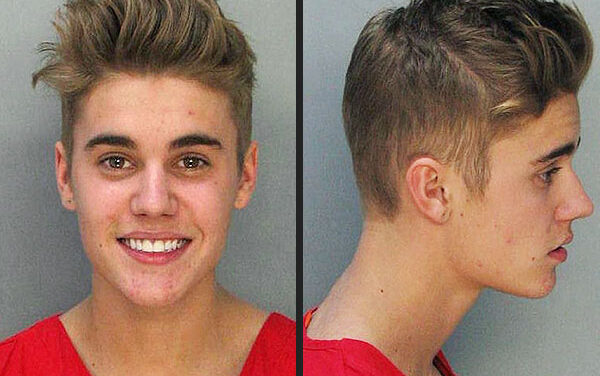 Justin Bieber's scandalous year in review