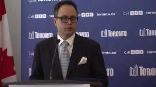 New parking regulations unveiled at Toronto's City Hall