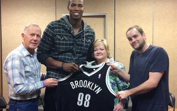Jason Collins meets with hate crime murder victim's family