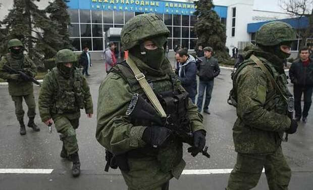 UKRAINE UPDATE: Military at airport, Yanukovych surfaces, Canada offers support
