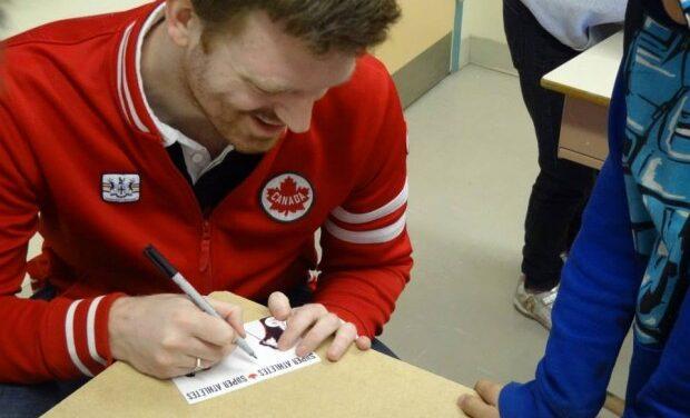 Paralympic athletes visit schools ahead of Sochi games: Map