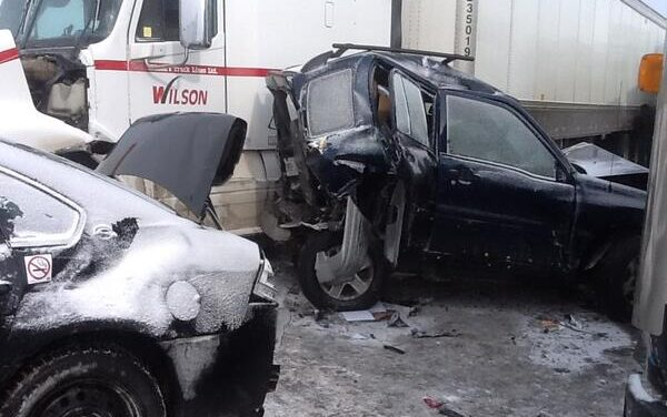 BREAKING: Highway 400 closed due to 96-car pileup