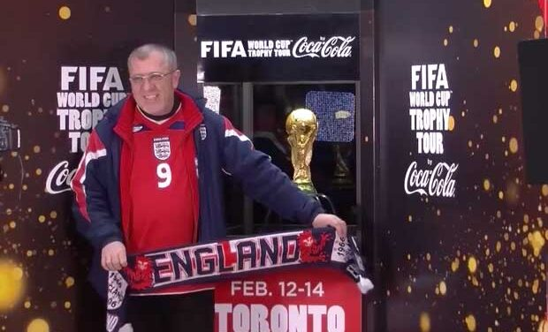 World Cup trophy comes to Toronto
