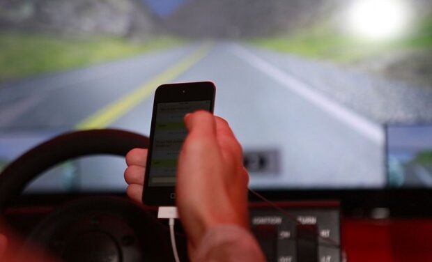 Police crack down on distracted drivers in blitz