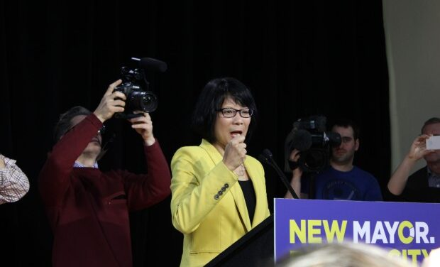 Chow applies for a new job: 'We need a new mayor'