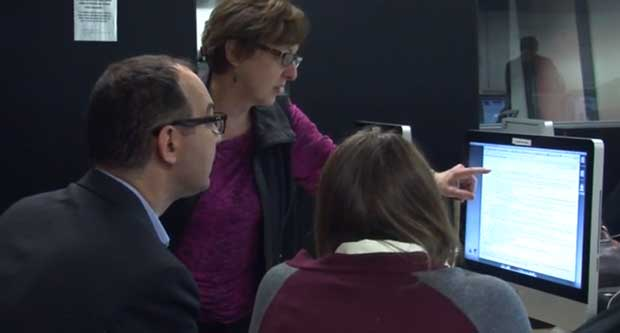 CTV News' Hester Riches visits Humber newsroom