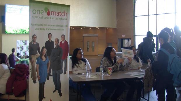Stem cell, bone marrow registry runs on campus