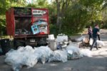 Dozen garbage bags