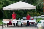 Humber River clean up tent