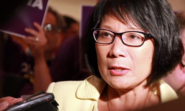 Olivia Chow fights to the end