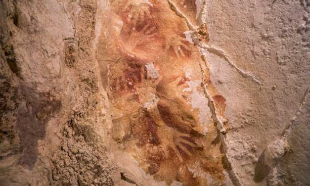 Discovery of possibly oldest cave art 'humbling.'