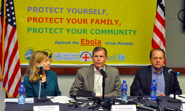 The state of Ebola: not just Africa's problem