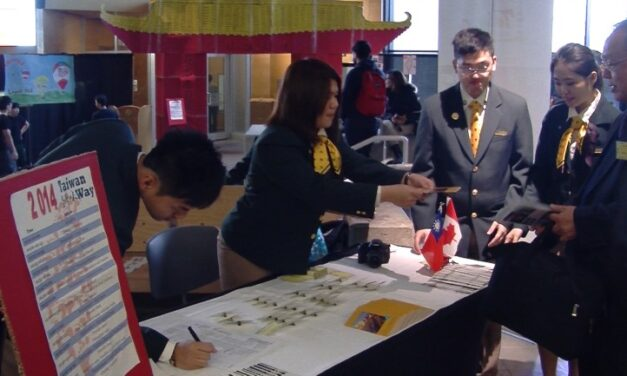 2014 Taiwan cultural showcase event at Humber College