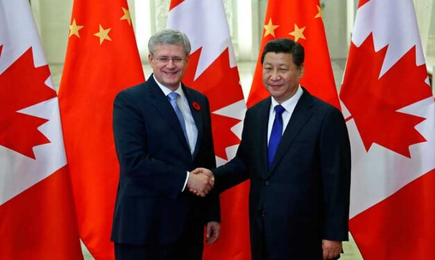 A timeline of Harper government-Chinese relations
