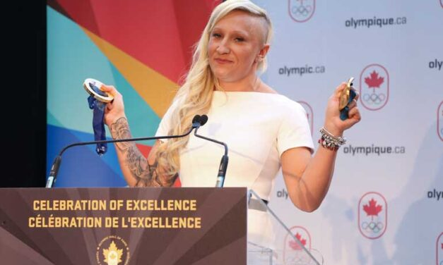 Canadian Olympian Kaillie Humphries makes history in bobsled