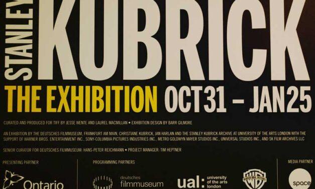 Stanley Kubrick exhibition TIFF's largest ever
