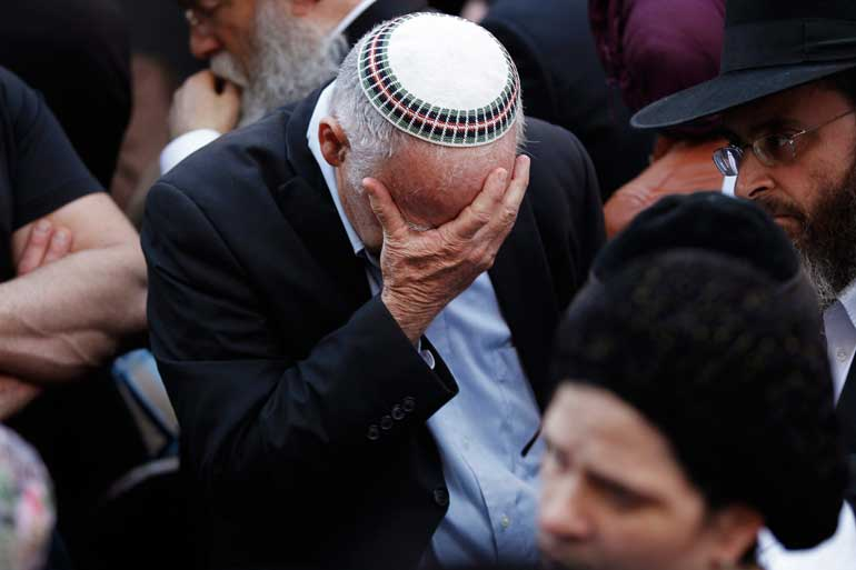 Israel mourns attack on synagogue.