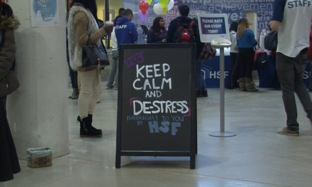 Keep Calm and De-Stress at Humber College
