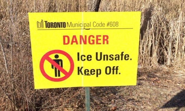Toronto's Grenadier Pond puts ban public skating