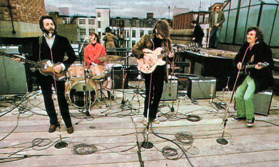 Beatles rooftop legacy