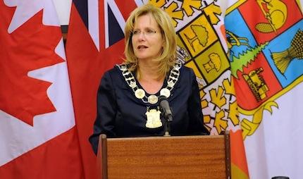 Brampton Mayor Linda Jeffrey