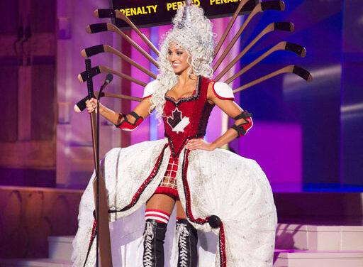 Miss Canada's hockey dress gets people talking