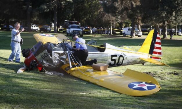 Harrison Ford recovers in hospital after L.A. plane crash