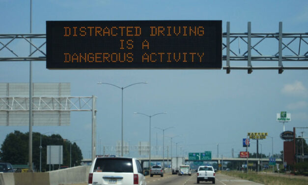 Distracted driving crackdown