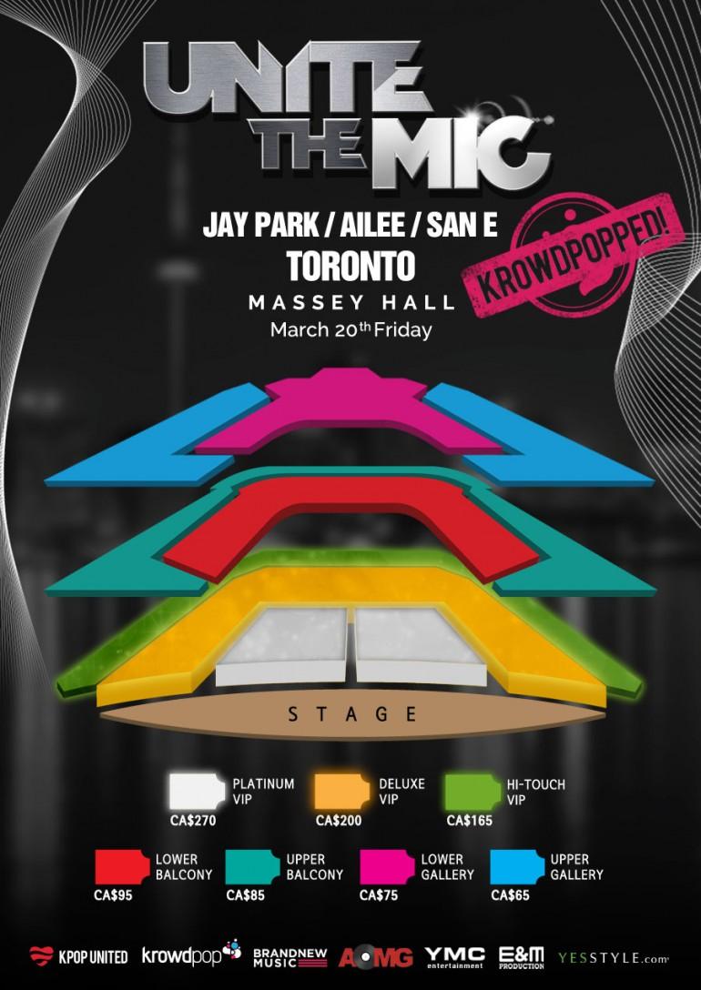 Unite the Mic Toronto Seating