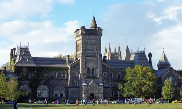 University of Toronto teaching assistants back to class