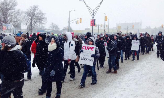 Strike creates uncertainty for York U community