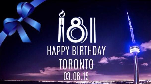 Toronto 181st Birthday unites community