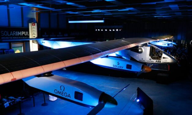 Solar powered plane begins record-breaking round-the-world trip