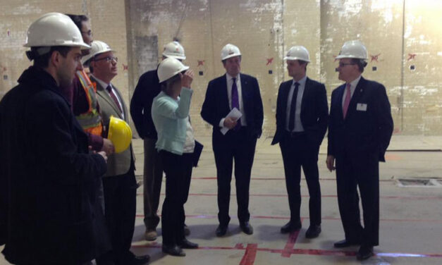 Tory, Cressy preview new housing for homeless youth