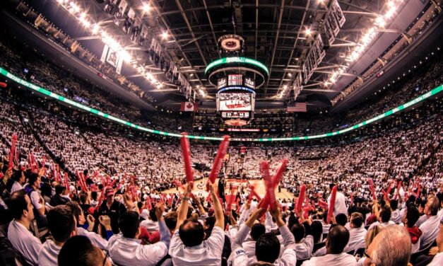 Raptors fans rally before playoffs