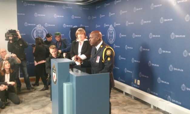 Mark Saunders named Toronto's new Chief of Police