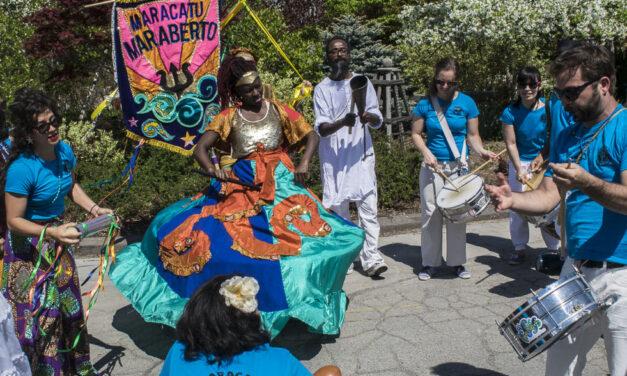 Pan Am Path Art Relay celebrates culture, diversity