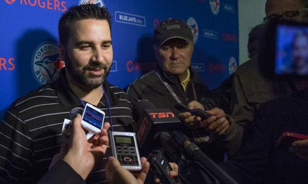 Toronto Blue Jays GM Alex Anthopoulos leaves team