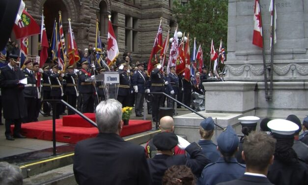 Toronto honours Canadian heroes at Old City Hall