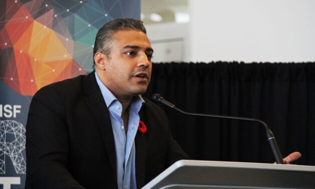 Mohamed Fahmy attends Humber College for HSF Real Talks