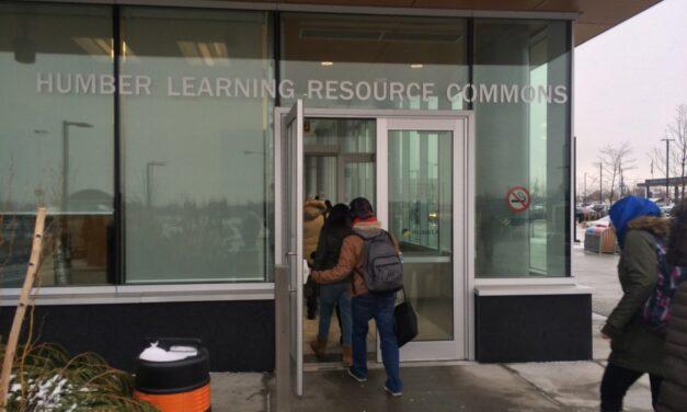 Repair coming 'soon' for Humber College accessible door